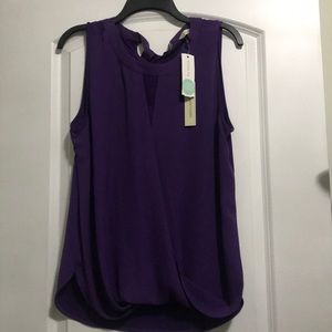 Purple 41 Hawthorn sleeveless top